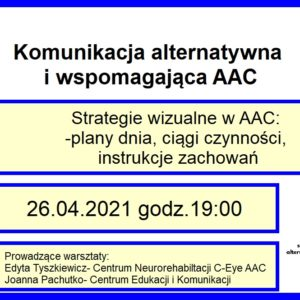 Strategie wizualne w AAC