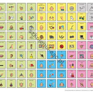 Tablica komunikacyjna- logopedia