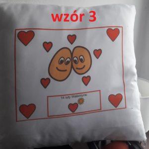 Poszewka na poduszkę Walentynki