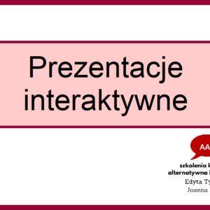 Prezentacje interaktywne