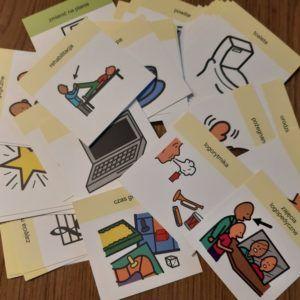 Zestaw znaków do przedszkola- PCS szkolenia-aac pl